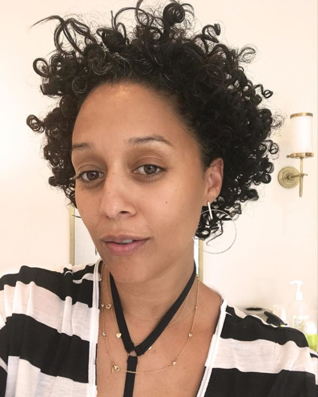 <p>The 39-year-old is a selfie pro. (Photo: Instagram/tiamowry) </p>