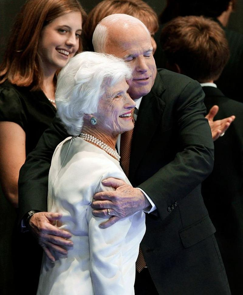 John McCain's Mom, 106, Is 'Proud' Of His Legacy