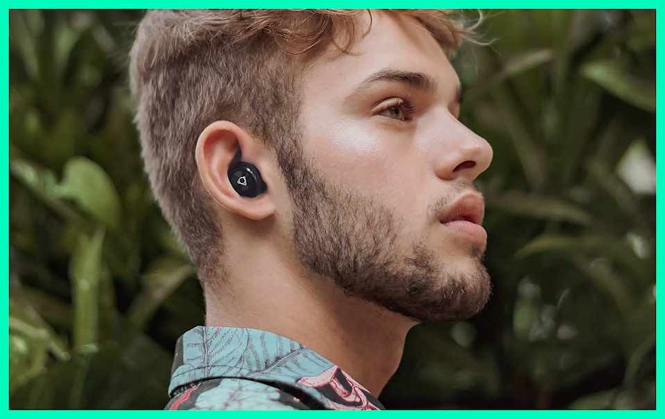 These Otium Wireless Earbuds are on sale for $21, or $25 off. (Photo: Amazon)
