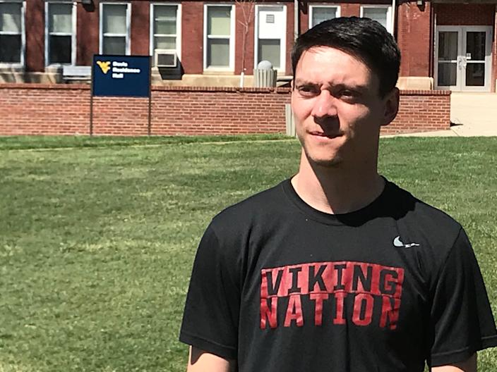 Cody Southerly, 22, a student at West Virginia University's Potomac State College, says raising the minimum wage will lead to higher prices.