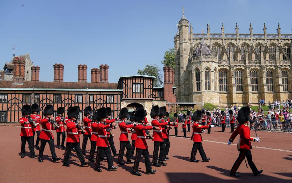 changing of the guard - Getty