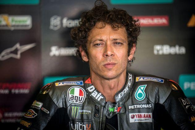 HOHENSTEIN-ERNSTTHAL, GERMANY - JUNE 18: Valentino Rossi of Italy and Petronas Yamaha SRT looks during the MotoGP Liqui Moly Motorrad Grand Prix Deutschland at Sachsenring Circuit on June 18, 2021 in Hohenstein-Ernstthal, Germany. (Photo by Steve Wobser/Getty Images) (Photo: Steve Wobser via Getty Images)