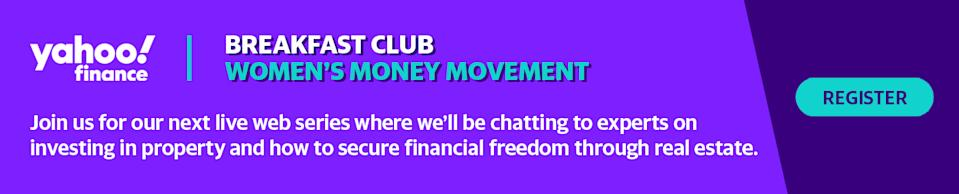 Join us for our Women's Money Movement webinars.
