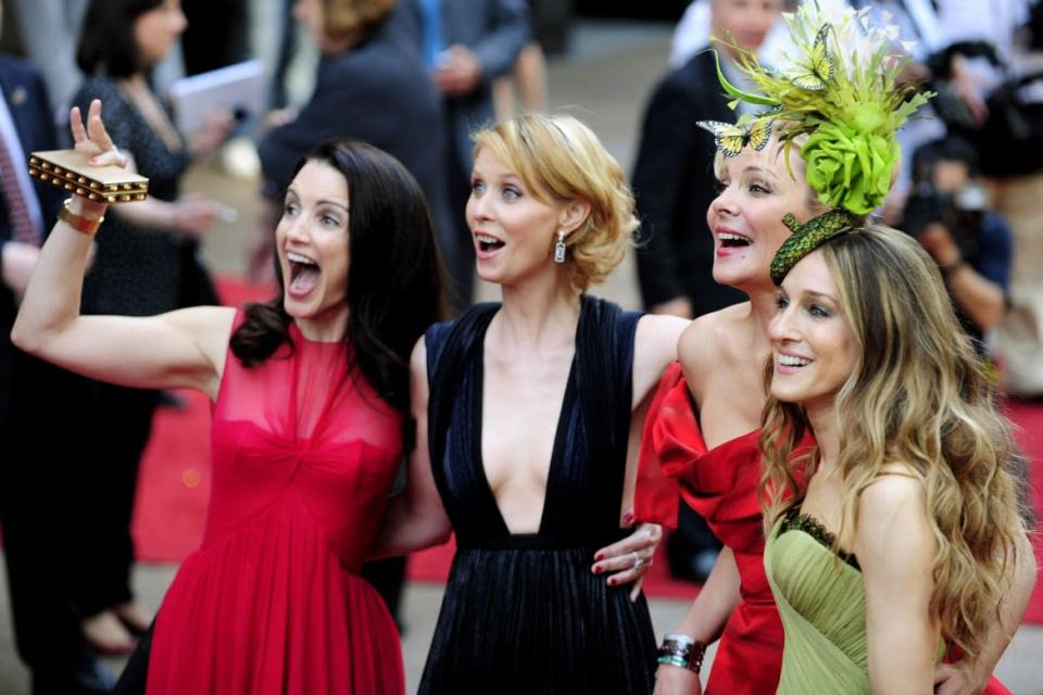 """<div class=""""inline-image__caption""""><p>Kristin Davis, Cynthia Nixon, Kim Cattrall and Sarah Jessica Parker at the world premiere of '""""Sex And The City: The Movie"""" in 2008. Cattrall is not taking part in the new series.</p></div> <div class=""""inline-image__credit"""">Dylan Martinez/Reuters</div>"""