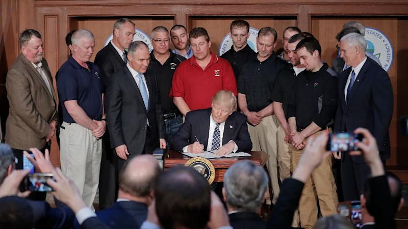 What Global Warming? Trump Inks Executive Order on Energy, Climate