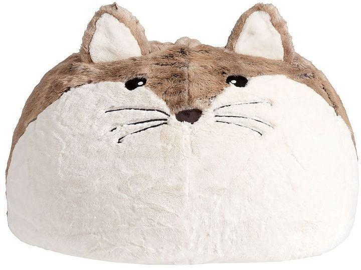 <p>This <span>Fox Faux-Fur Critter Beanbag</span> ($179) looks like the ultimate comfy seat.</p>
