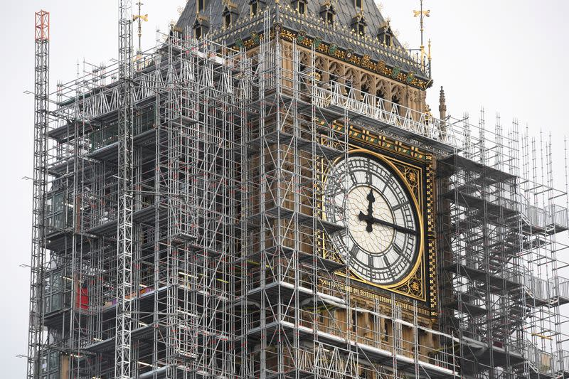 UK's Big Ben tower more badly damaged by Nazi bombs than thought