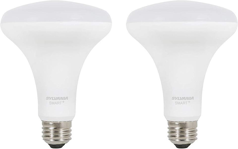 These bulbs work with voice controlled devices. (Photo: Amazon)