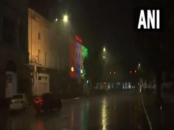 Rain accompanied by thunderstorms lashes parts of the national capital. [Photo/ANI]