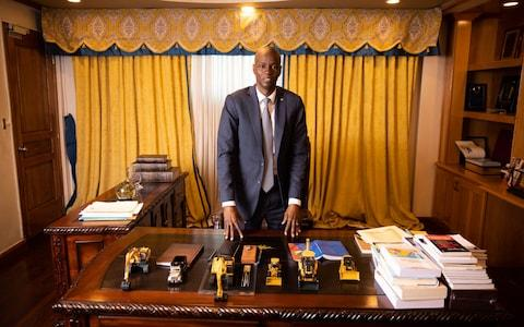Mr Moise starts ruling by decree on Monday - Credit: James Breeden for The Daily Telegraph
