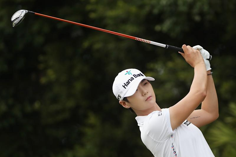Golf - Golf: Park in control at LGPA finale after birdie spree