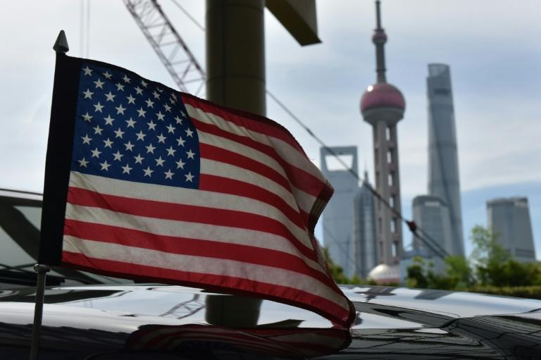 The escalating trade war is adding to growing fears of a possible recession in the US, with the tariffs weighing on both economies and global trade (AFP Photo/GREG BAKER)