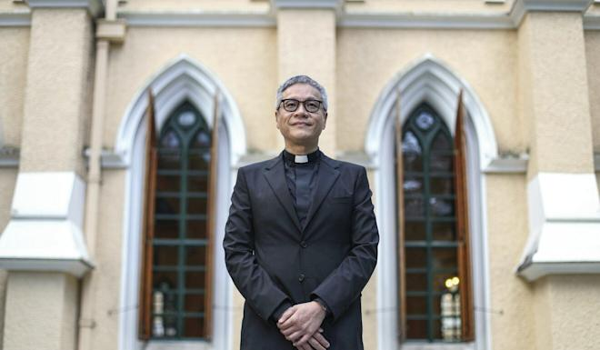 Reverend Canon Peter Koon says all countries need national security laws. Photo: Nora Tam