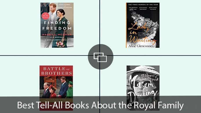 Finding Freedom, Lady in Waiting, Battle of Brothers, Ninety-Nine Glimpses of Princess Margaret