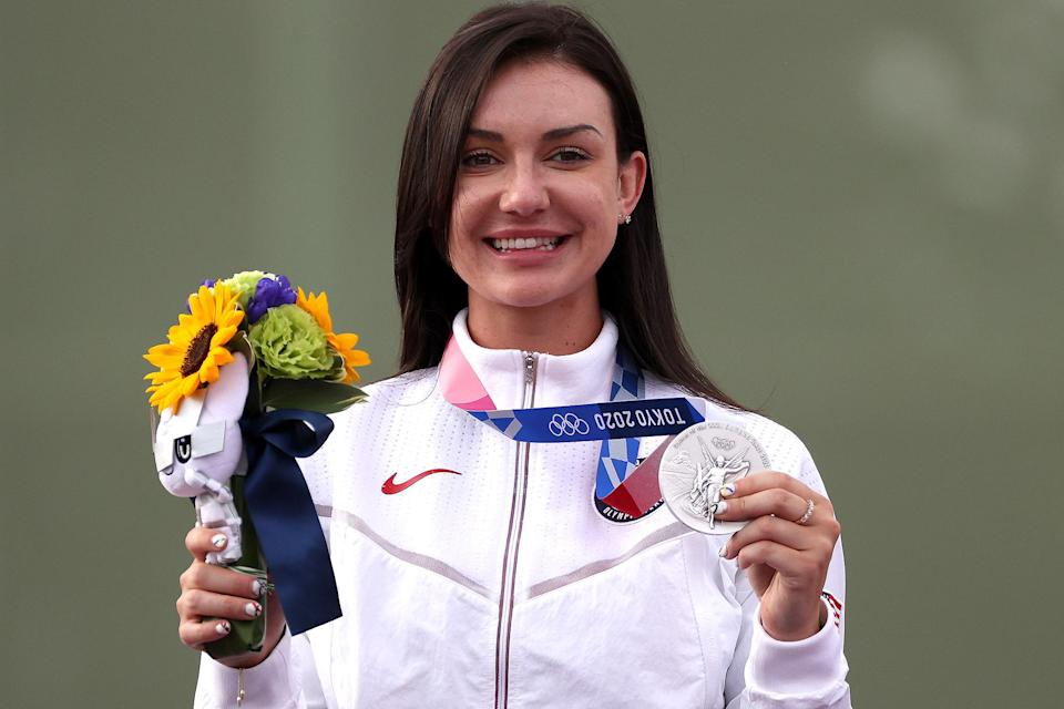 """<p>Biography: 29 years old</p> <p>Event: Women's trap (shooting) </p> <p>Quote: """"This is the pinnacle of my career. I've worked for this moment my whole life, so I don't really have words to describe it yet, but I'm definitely proud.""""</p>"""