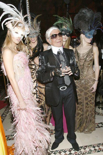 <p>As designer Karl Lagerfeld.</p>