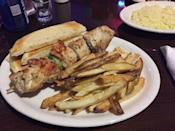 """<p><a href=""""http://www.yelp.com/biz/andys-club-ogden"""" rel=""""nofollow noopener"""" target=""""_blank"""" data-ylk=""""slk:Andy's Club"""" class=""""link rapid-noclick-resp"""">Andy's Club</a>, Ogden</p><p>""""Spot was so good we went three times in a row. Greek food is on point here. Awesome spot to grab food on one side then slide over to the bar for drinks after. Seriously one of the best steaks I've ever had. I'd put it up against steaks that cost 3 times as much! Super friendly servers. Seems like the real deal!"""" - Yelp user <a href=""""https://www.yelp.com/user_details?userid=os0AsM45jJQDYDhqqwh2-g"""" rel=""""nofollow noopener"""" target=""""_blank"""" data-ylk=""""slk:Ogcoda W."""" class=""""link rapid-noclick-resp"""">Ogcoda W. </a></p>"""