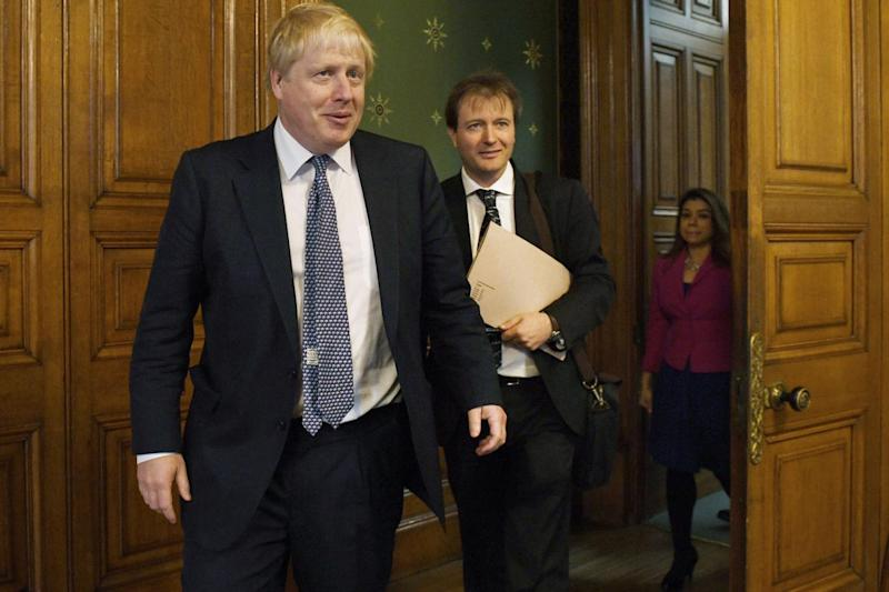 Negotiations: Boris met with Richard Ratcliffe, the husband of Nazanin (Stefan Rousseau/PA)