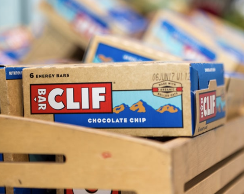 With up to 11 g of protein in a bar, you stay full longer and have the energy to get through this 3:00 p.m. work. (Photo: Clif Bar)