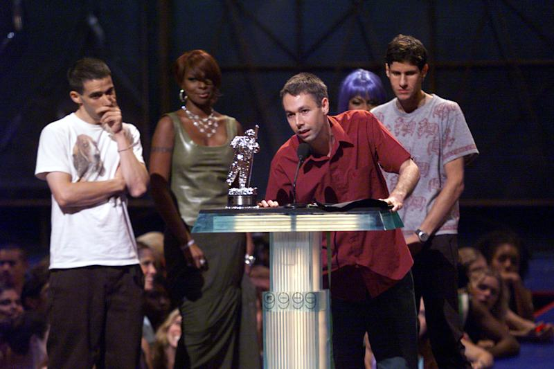 The Beastie Boys at the1999 MTV Music Video Awards. (Photo: Frank Micelotta/ImageDirect)