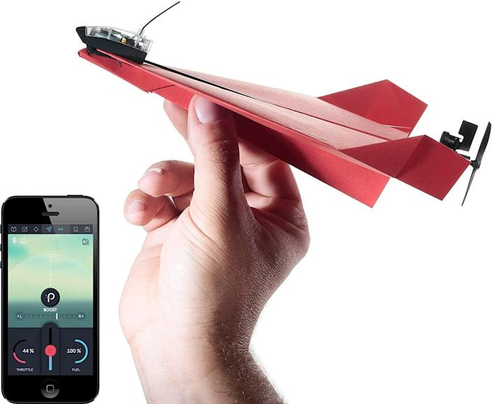 <p>The only thing better than making a paper plane for the holidays? The <span>POWERUP 3.0 Original Smartphone Controlled Paper Airplanes Conversion Kit</span> ($50)</p> <p>.</p>