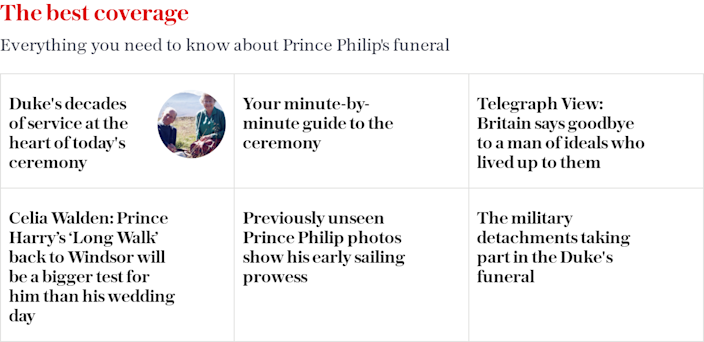 Prince Philip's funeral - April 17