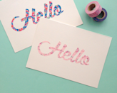 """<p>Show the birthday girl that you've got the """"write"""" stuff with a Washi tape scripted card.</p><p><strong>Get the tutorial at <a href=""""http://www.omiyageblogs.ca/2014/03/diy-washi-tape-script-cards.html"""" rel=""""nofollow noopener"""" target=""""_blank"""" data-ylk=""""slk:Omiyage Blogs"""" class=""""link rapid-noclick-resp"""">Omiyage Blogs</a>.</strong></p>"""