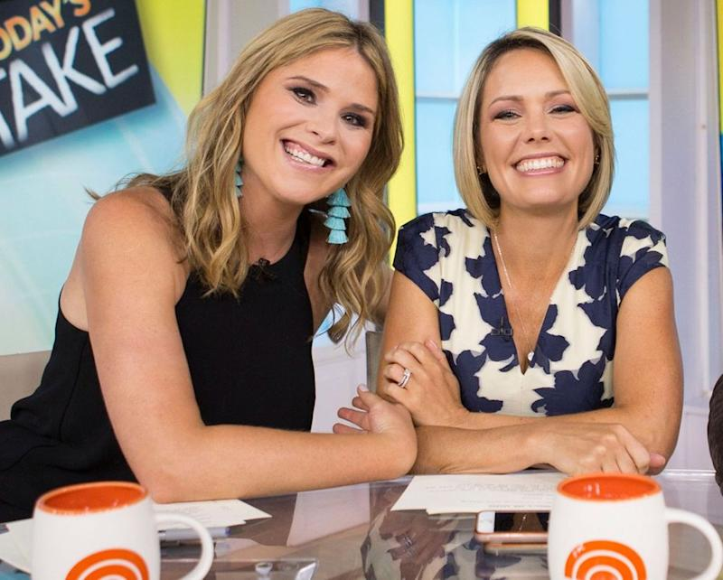 Jenna Bush Hager and Dylan Dreyer | Tyler Essary/NBC/NBCU Photo Bank via Getty