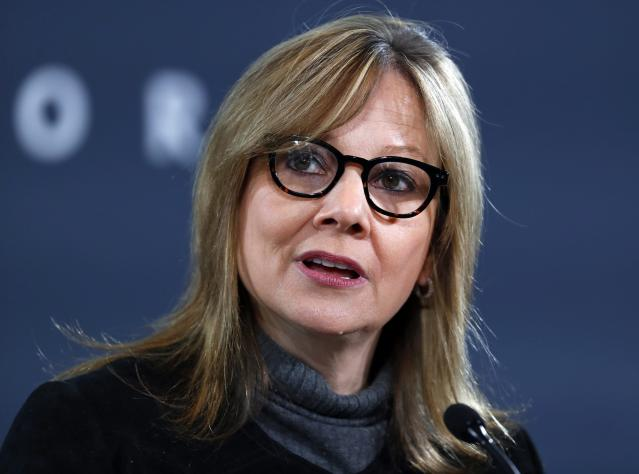 <p>No. 1: Mary Barra, Chairman and CEO, General Motors<br>For the third consecutive time, 55-year-old Barra tops the list, in no small part due to her pushing the Chevy Bolt EV into the market ahead of Tesla's Model 3, making it the top-selling non-luxury pure electric car. <br>Company Financials (2016, or most recently completed fiscal year)<br>Revenues ($M) 166380<br>Profits ($M) 9427<br>Market Value as of 9/14/17 ($M) 56310.6<br>(Canadian Press) </p>