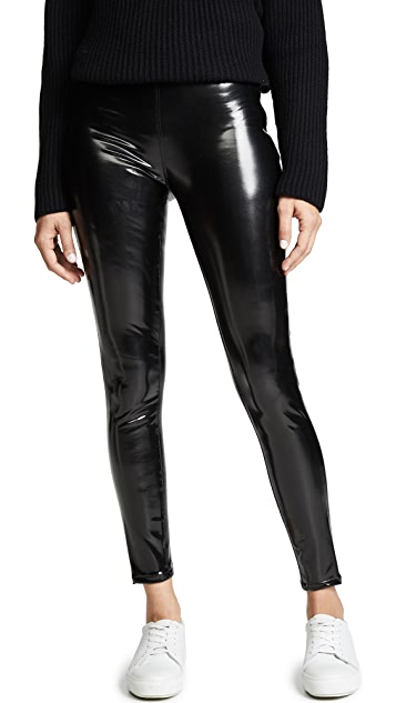 """<h3>Patent Leather Leggings<br></h3><br>This type of legging is an actual gift from the shopping heavens: a comfortable and stretchy pant that can dominate a night out at the <em>clurb</em>. <br><br><strong>Blank Denim</strong> Vinyl Pull On Leggings, $, available at <a href=""""https://go.skimresources.com/?id=30283X879131&url=https%3A%2F%2Fwww.shopbop.com%2Fvinyl-pull-leggings-blank-denim%2Fvp%2Fv%3D1%2F1538420442.htm"""" rel=""""nofollow noopener"""" target=""""_blank"""" data-ylk=""""slk:Shopbop"""" class=""""link rapid-noclick-resp"""">Shopbop</a>"""