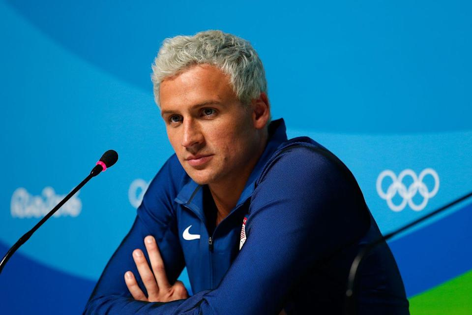 "<p>Ryan Lochte made international headlines during the 2016 Olympic Games, but not for his athletic prowess. The swimmer claimed that he and two of his teammates had been robbed at gunpoint one night in Rio de Janeiro, but it soon became clear that the incident had not occurred. Instead, Lochte had been drunk and vandalized a gas station. Lochte was forced <a href=""https://www.nytimes.com/2016/08/20/sports/olympics/ryan-lochte-apology-rio-olympics.html?mcubz=0"" rel=""nofollow noopener"" target=""_blank"" data-ylk=""slk:to apologize"" class=""link rapid-noclick-resp"">to apologize</a>, and then (maybe) forced to compete on<em> Dancing With the Stars</em>.</p>"