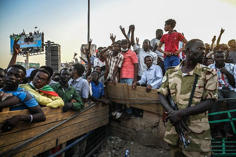 Sudanese protestors have demanded the ruling military council make way for civilian rule (AFP Photo/OZAN KOSE)