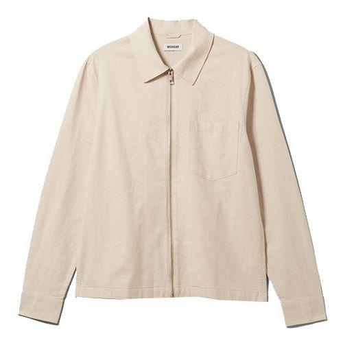 """<p><a class=""""body-btn-link"""" href=""""https://go.redirectingat.com?id=127X1599956&url=https%3A%2F%2Fwww.asos.com%2Fweekday%2Fweekday-ahmed-linen-overshirt-in-white%2Fprd%2F14580978&sref=https%3A%2F%2Fwww.esquire.com%2Fuk%2Fstyle%2Fg33378579%2Fcheap-clothes-men-under-50-pounds%2F"""" target=""""_blank"""">SHOP</a></p><p>Overshirts work best in a time. And in Weekday's Ahmed design, a heavier linen fabric makes it your MVP, as it can slot even easier with all the other staples in an autumn rotation.</p><p>Ahmed Linen Overshirt, £45, <a href=""""https://go.redirectingat.com?id=127X1599956&url=https%3A%2F%2Fwww.asos.com%2Fweekday%2Fweekday-ahmed-linen-overshirt-in-white%2Fprd%2F14580978&sref=https%3A%2F%2Fwww.esquire.com%2Fuk%2Fstyle%2Fg33378579%2Fcheap-clothes-men-under-50-pounds%2F"""" target=""""_blank"""">asos.com</a><a href=""""https://go.redirectingat.com?id=127X1599956&url=https%3A%2F%2Fwww.asos.com%2Fweekday%2Fweekday-ahmed-linen-overshirt-in-white%2Fprd%2F14580978&sref=https%3A%2F%2Fwww.esquire.com%2Fuk%2Fstyle%2Fg33378579%2Fcheap-clothes-men-under-50-pounds%2F"""" target=""""_blank""""> </a></p>"""