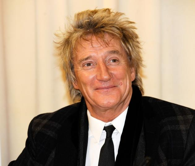 Rod Stewart promotes 'Rod: The Autobiography' at Barnes & Noble, 5th Avenue in New York City on October 23, 2012 -- Getty Premium