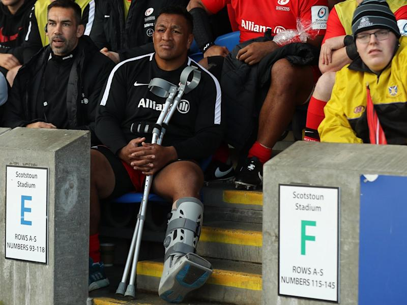 Mako Vunipola has been ruled out of the entire autumn international campaign with a calf tear: Getty