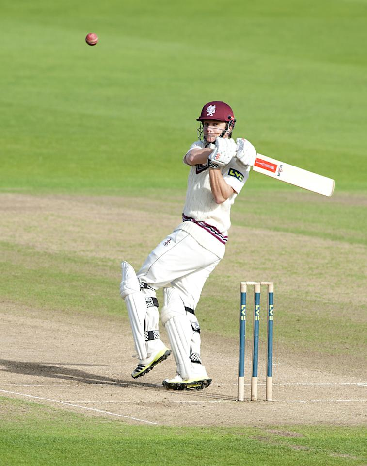 Somerset's James Hildreth bats during the LV= County Championship, Division One match at Trent Bridge, Nottingham.