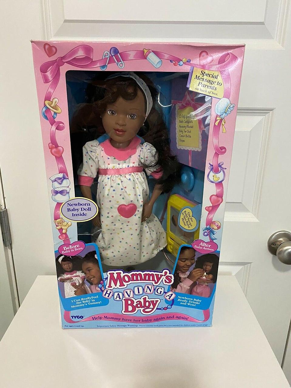 <p><span>Mommy's Having a Baby 1992</span> ($70)</p>