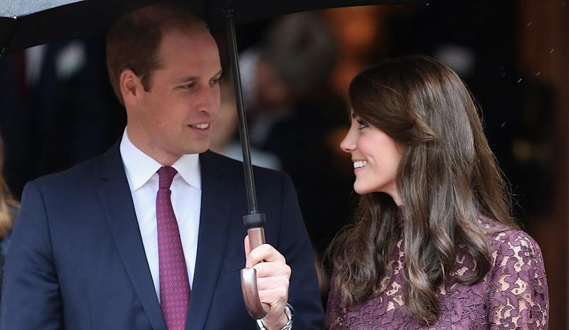 Kate Middleton and Prince William acting for Queen Elizabeth on European trip