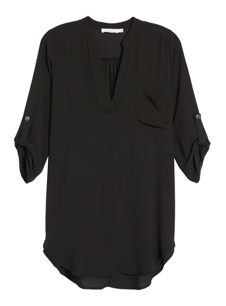 All in Favor Perfect Henley Tunic