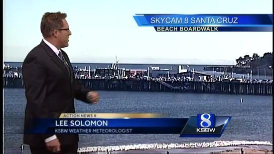 Watch your local evening forecast on KSBW 07 11 14 [Video]