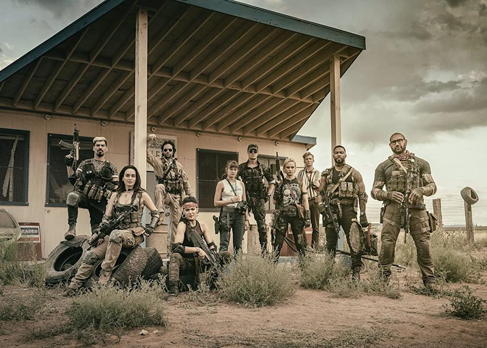 Zack Snyder's Army Of The Dead will star Dave Bautista, Ella Purnel, Theo Rossi, Tig Notaro, and Omari Hardwick (Image by Netflix)
