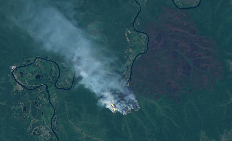 Siberia temperatures hit record for June as wildfires spread