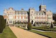 "<p>Somerleyton Hall acts as the <a href=""https://www.housebeautiful.com/lifestyle/a34535298/haunted-royal-family-homes-ghost-stories/"" rel=""nofollow noopener"" target=""_blank"" data-ylk=""slk:Sandringham Estate"" class=""link rapid-noclick-resp"">Sandringham Estate</a>, Queen Elizabeth II's country <a href=""https://www.housebeautiful.com/lifestyle/a33926799/queen-elizabeth-sandringham-house-drive-in-movie-theater-september/"" rel=""nofollow noopener"" target=""_blank"" data-ylk=""slk:home"" class=""link rapid-noclick-resp"">home</a> that has been in her family for four generations. Although Somerleyton Hall is privately owned, it is open for tours from April through September every year. This Anglo-Italian-style home is a Grade II-listed site that features carved wooden staircases, stained glass windows as part of the ceiling, and classic coffered ceilings. A home was first built on the grounds of what is now <a href=""https://www.elledecor.com/design-decorate/house-interiors/a9396/english-estate/#:~:text=Somerleyton%20Hall%2C%20a%20Jacobean%20manor,style%20between%201844%20and%201851."" rel=""nofollow noopener"" target=""_blank"" data-ylk=""slk:Somerleyton Hall"" class=""link rapid-noclick-resp"">Somerleyton Hall</a> in 1240, and the structure that exists today was built in the early 1600s.</p>"