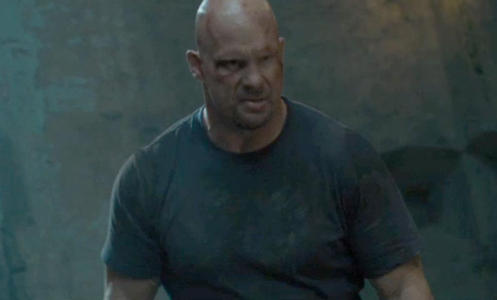 """<a href=""""http://movies.yahoo.com/movie/contributor/1809208737"""">STONE COLD STEVE AUSTIN</a>  Age: 45  Year of First Film Appearance: 2005  Number of Oscar Nominations: 0  Total Domestic BO Gross: $165,491,166   Steve Austin (originally his wrestling handle, but now his legal name) was declared to be the most popular superstar in WWE history -- even above Hulk Hogan -- by owner Vince McMahon."""