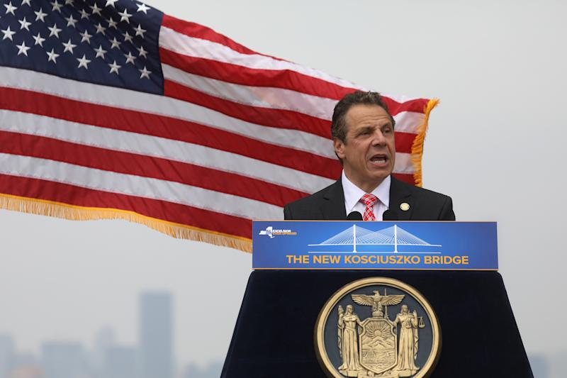 New York Gov. Andrew Cuomo signed a bill on Monday to close a loophole in the state's Clean Indoor Air Act that allowed individuals to smoke tobacco in public places where cigarettes are prohibited. (Carlo Allegri / Reuters)