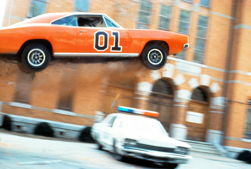 The General Lee makes one of its signature jumps on an episode of 'The Dukes of Hazzard' (Photo: Courtesy Everett Collection)