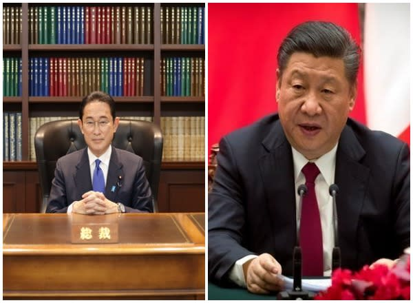The Japanese government is arranging a phone conversation between new Prime Minister Fumio Kishida and Chinese President Xi Jinping.