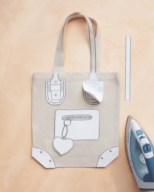 Transform a Plain Tote Bag