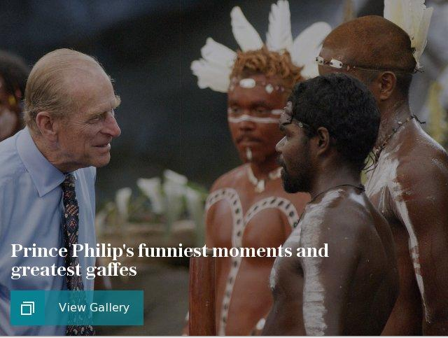 Prince Philip's funniest moments and greatest gaffes
