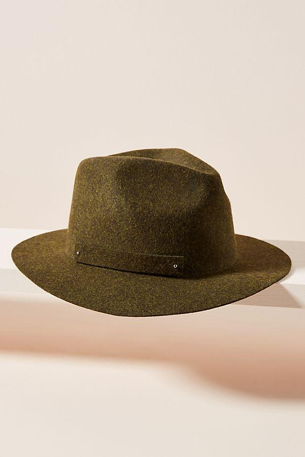 The perfect travel-ready fedora. (Credit: Anthropologie)